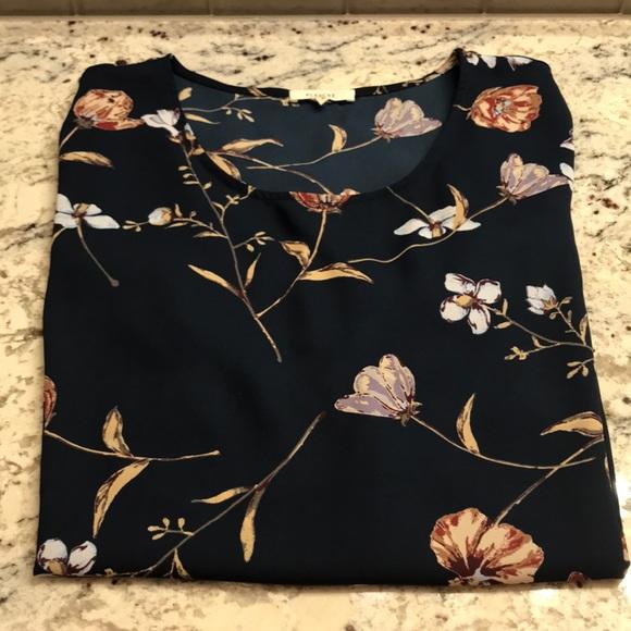 Pleione Tops - Women's Pleione SS Blouse Size XL NWOT
